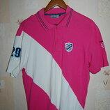 Футболка рубашка -поло фирмы Falcon polo team , оригинал , на 52 р-р.