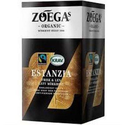 Органический молотый кофе Estanzia ECO Rättvmärkt Zoegas,450 грамм