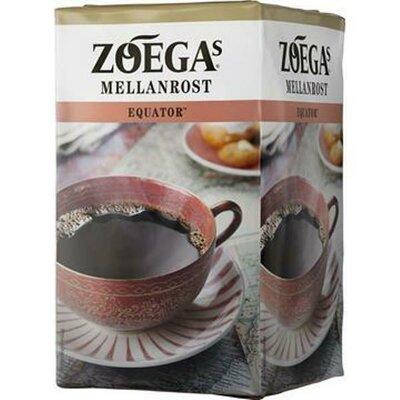 Экватор молотый кофе, Zoégas Equator Mellanrost 450 грамм
