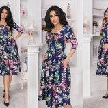 Платье 3 цвета 42,44,46 размеры