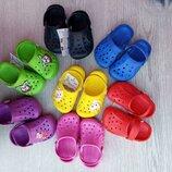 Кроксы детские, Украина, сабо детские vitaliya 20-35р