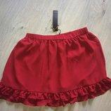 Шифоновая красная юбочка с воланами Super Rash p.14-16
