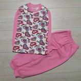 Пижама для девочек. Турция. Размеры 5, 7 лет.