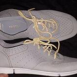 39р-25.5 нубуковая кожа туфли Clarks artisian