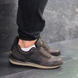 Nike кроссовки мужские демисезонные коричневые 7440