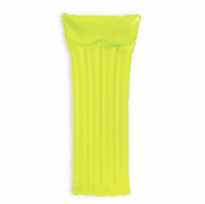 Надувной матрас intex 59717 Yellow Желтый Неоновый 183-69см