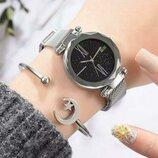 Женские наручные часы starry sky watch silver
