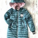 Демисезонная курточка девочке подростку 134см,146см размера