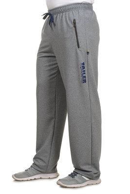 Спортивные штаны трикотажные мужские на манжетах, р-р 48-54