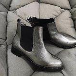 Ботинки на кожаном подкладе