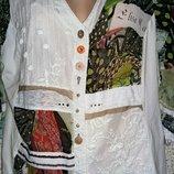 Очень красивая блузка от бренда Elisa Cavaletti.Оригинал.Италия