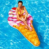 Пляжный надувной матрас - плот Intex 58762 Мороженое, 224 х 107 см