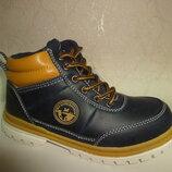 Утепленные ботинки 28,29 р. B&G на мальчика, осень, весна, ботінки, хлопчик, осінь, би-джи, деми