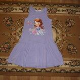 Сарафан плаття H&M с принцесой Софией р. 4-6 рочків платья