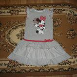 Плаття сарафан Disney с Минни Маус на 5-6 років платья