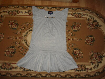 Плаття Туника 8-9 лет Gloss с серебром платья