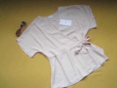 5b07835a17e Пудровая стильная блузка