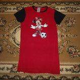 Платья туника с минни маус Disney 104/110 плаття
