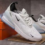 Кроссовки Nike Air 270, белые . 40.41.42.43.44. 45 размер дышащие качество