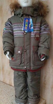 Зимний костюм комбинезон на мальчика Donilo от 1 до 3 лет 86-104 см тинсулейт