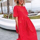 Легкое красивое платье 42 - 46