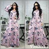 Красивое платье 42 - 44 десять расцветок