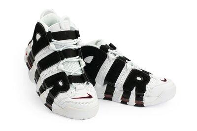 Кроссовки Nike Air More Uptempo white/black