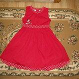 Нарядне плаття Disney с Минни Маус на 6 лет платья
