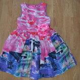 Платье нарядное на 5-7 лет tu