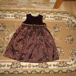 Плаття сарафан нарядне с паєтками Daisy B на 18-24 міс 92 см платья