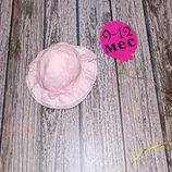 Фирменная панама для девочки 9-12 месяцев, 48 см