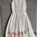 Шикарное платье. красивое платье. свадьба, выпускной, вечернее, праздник. платье миди. Хлопок