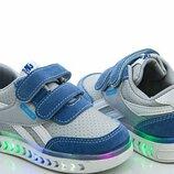 Детские кроссовки для мальчиков размеры 21-26