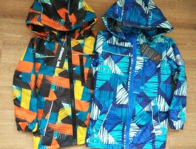 Демисезонная куртка Be easy из мембранной ткани водонепроницаемая в наличии от 110 до 146
