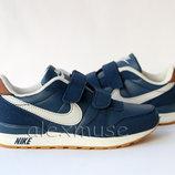 Кроссовки синие Nike, копия бренда