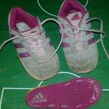 Замшевые кроссовки Adidas р.24.
