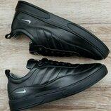 Мужские кожанные кроссовки Nike Air max
