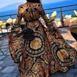 Шикарное платье халат пляжное