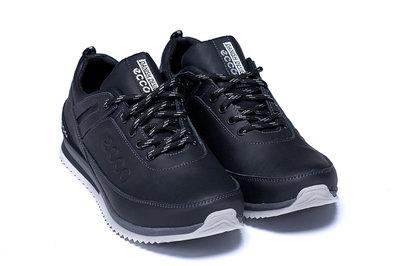 Мужские кожаные кроссовки туфли