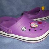Кроксы Crocs девочке 21,5см.