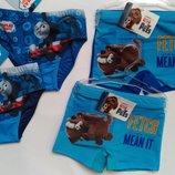 Красивые плавки Disney для мальчика Собачки Паровозик Томас Дисней
