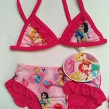 Красивый купальник для девочки Disney Принцессы Дисней Белоснежка Бель Ариель Рапунцель