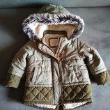 Парка F&F, деми куртка, курточка демисезонная для девочки