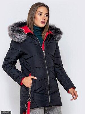 Куртка Осень-Зима 2019 в наличии есть большие размер 42,44,46, 48, 50, 52, 54