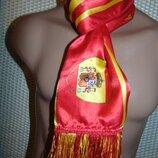 Спортивний фирменний футбольний шарф зб Испании .