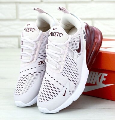 6fa47339 Женские кроссовки Nike Air Max 270 White Red: 1250 грн - женские ...