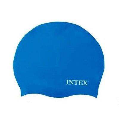 Intex Шапочка для плавания, силикон, 8 лет,