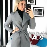 Пальто кашемир 4 цвета 42-46 размеры