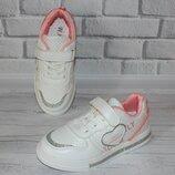 Белые кроссовки на девочку модные стильные новые новинка весенние макасины кеды глиттер