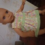 платье для беби борна